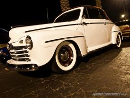 Classic White Ford by Swanee3