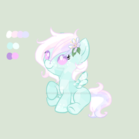 Crystal pony adoptable: Pastel Pegasus/Spring Time by StarDust-Adoptables