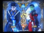 Dib vs. Zim in Soul Calibur by Darkmoose84