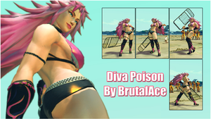 Diva Poison By BrutalAce by BrutalAce