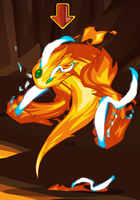 BlueFlame Elemental by dinohunter9