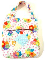 Floral Ice Cream Tote Bag by deconstructedstars