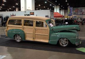 1946 Ford Woody by Razgar