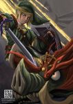 Legend of Zelda Twilight Princess Fanart Print by riazkhan
