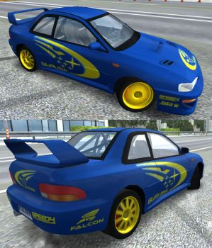 Rally Bred Racer by toyonda