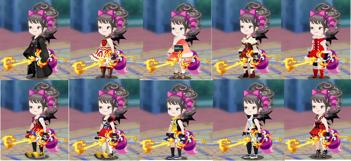 KHUX Crisi: fav outfits! by A-sweet-nightmare