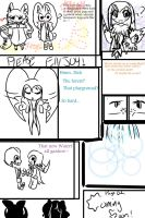 LoveAction page 1 by The-Pink-Green-Chibi