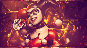 Harley Quinn - Signature by RagingMarshmellow