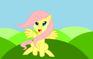 Springtime Fluttershy by Ced75