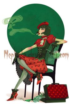 Lady Coccinelle by Nephyla