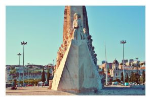 Monument to the Discoveries by sacadura