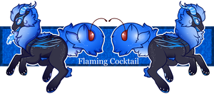 Flaming Cocktail Fareling by guIIs