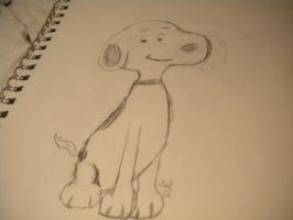 Snoopy by writerwithoutapencil