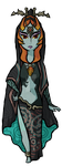 Midna Wind Waker by Decapitated-Kittens