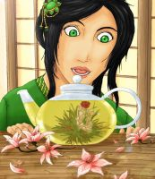 JadeEyes The Tea Flower - Contest Entry by Eniell