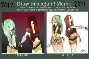 Draw It Again Meme by Bittylime
