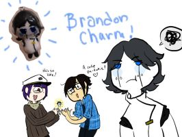 Brandon charm! by Ask-Milo-and-Brandon