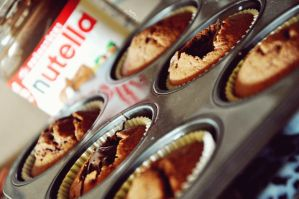 Nutella Cupcakes by Disneys-Buffy