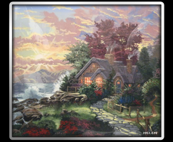 Thomas Kinkade by HelenLight