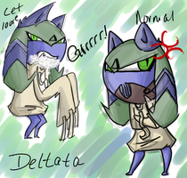 Deltata by TaiitheDecepticaon