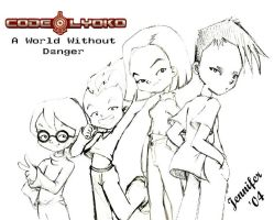 CL Group pic...pencil by cjh by Code-Lyoko-Fans