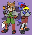 StarFox: Fox and Falco by aabarro13