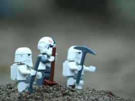 Snow Troopers - Diggers by mckatalyn