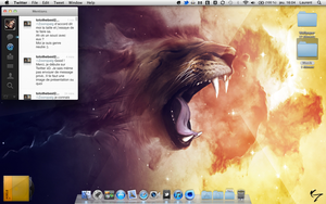 LION on my Mac by Laugend