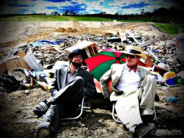 Suits in a Landfill - 007 by PxRxSxRx