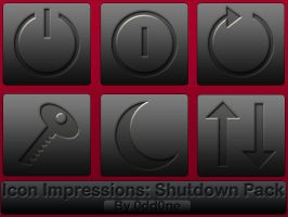 Icon Impressions- Shutdown by 0dd0ne
