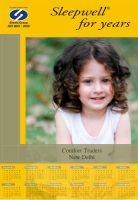 calender design for sleepwell2 by goodlife