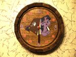 Barrel-clock filly twilight sparkle oak by Goregrind666