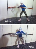 Custom Jack Frost doll by SilverLady7