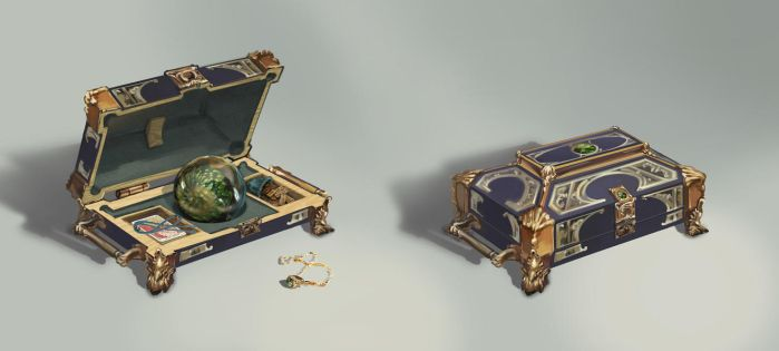 Fortuneteller's case by AnDary