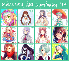 Art Summary 2014 by mieille