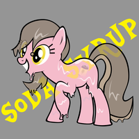 Soda Syrup the Slime Pony by GolemGeekery