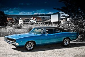 blue 68 charger IV by AmericanMuscle
