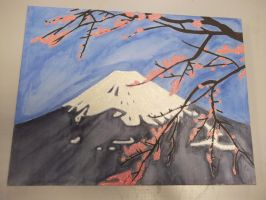 Mount. Fuji Canvas by Luna-Rox