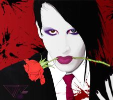 . marilyn manson . by dongin