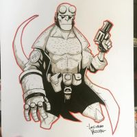 Hellboy Commission by LucianoVecchio