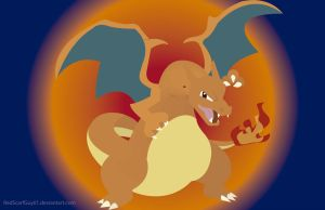 Charizard by RedScarfGuy01
