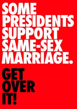 Some Presidents Support Same-Sex Marriage by kingpin1055
