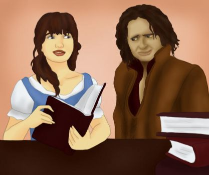Belle + Rumpel: Reading Time by BLOOD-and-LUST-87