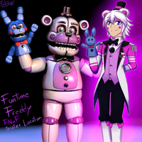 FNaF Sister Location: Funtime Freddy by Emil-Inze
