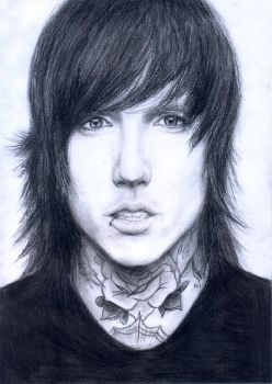 Oliver Sykes by A7Xserbia98