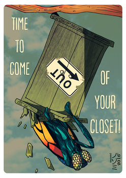 Time to come out of your closet by Nomiephobia