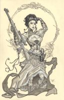 Lady Mechanika by MichaelDooney