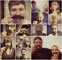 Nom-Staches by CrazedByCalliope