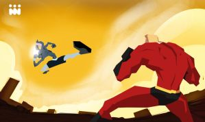 Bugs Vs Mr.incredible by Tkdflash