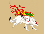 Okami Run by Eddie-Ka